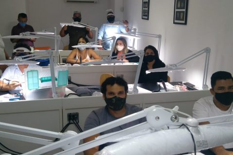 Curso Maquiagem e Estratificação com Vintage LD Shofu
