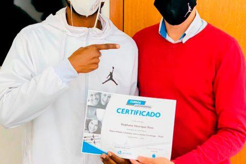 Stephano com Certificado