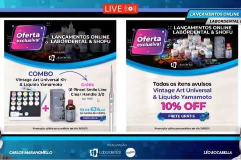 Lançamentos Online Labordental & SHOFU